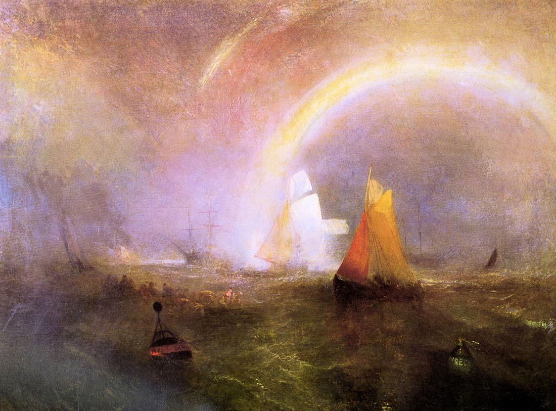 Wrecked buoys - Joseph Mallord Turner