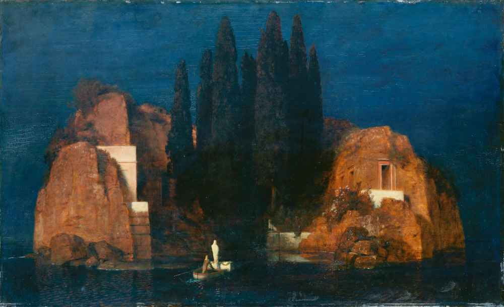 Wyspa śmierci II - Arnold Bocklin