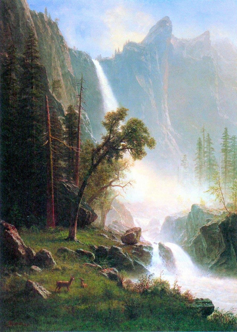 Yosemite Falls - Bierstadt
