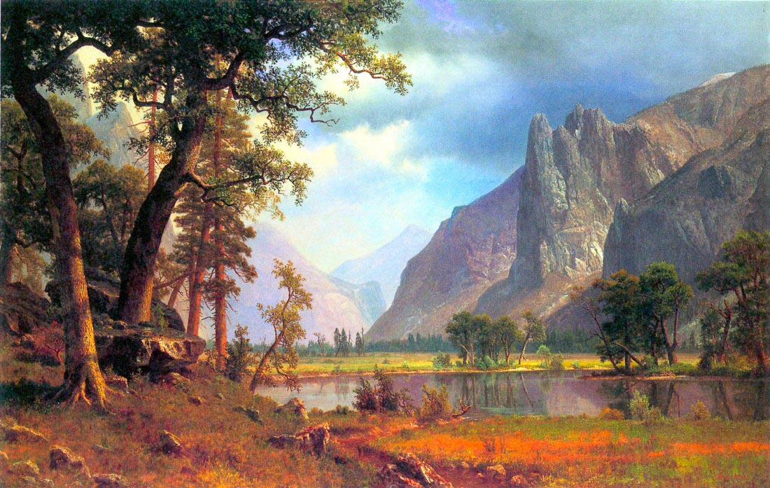 Yosemite Valley 2 - Bierstadt