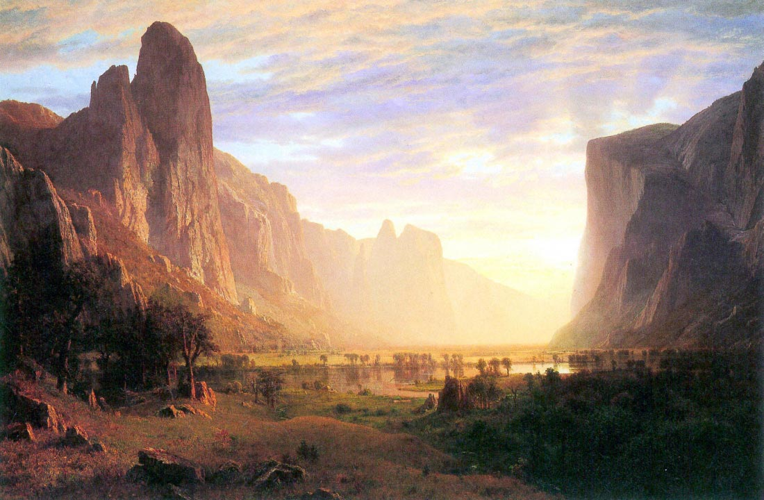 Yosemite Valley 3 - Bierstadt
