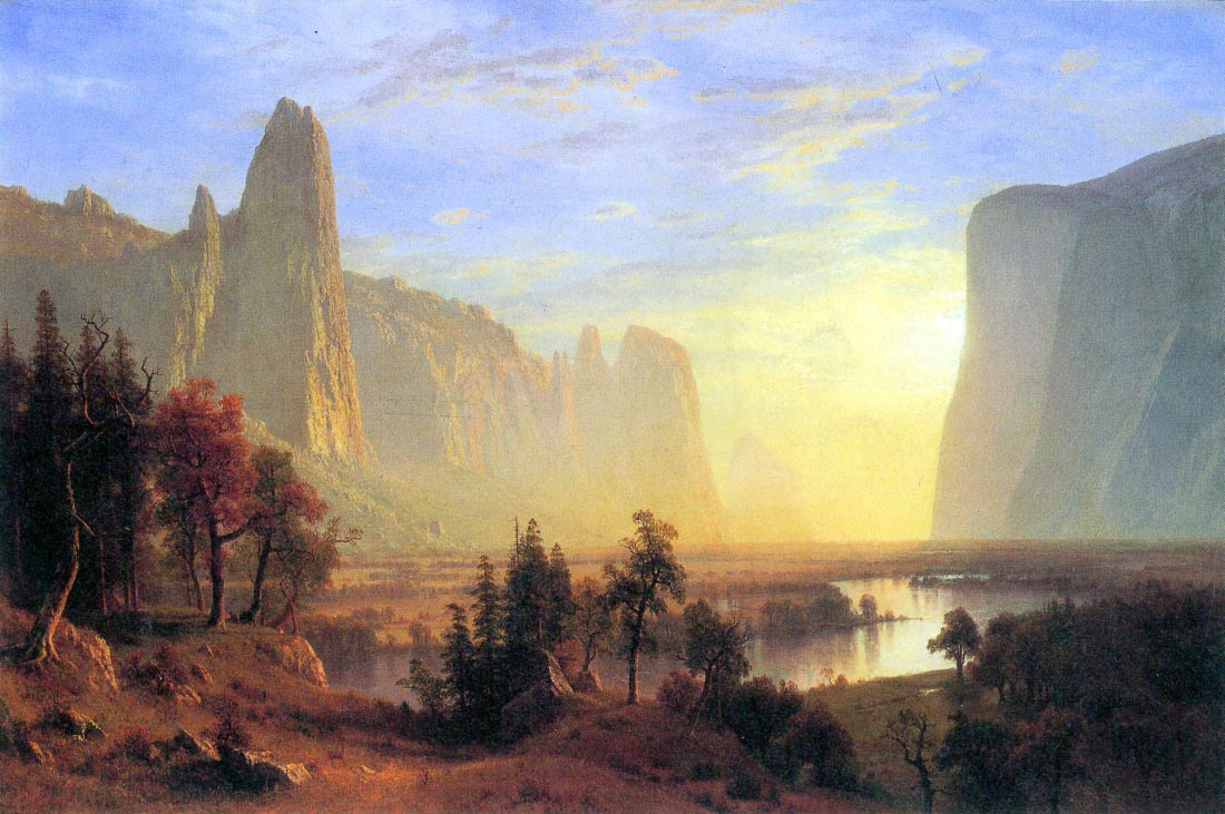 Yosemite Valley - Bierstadt