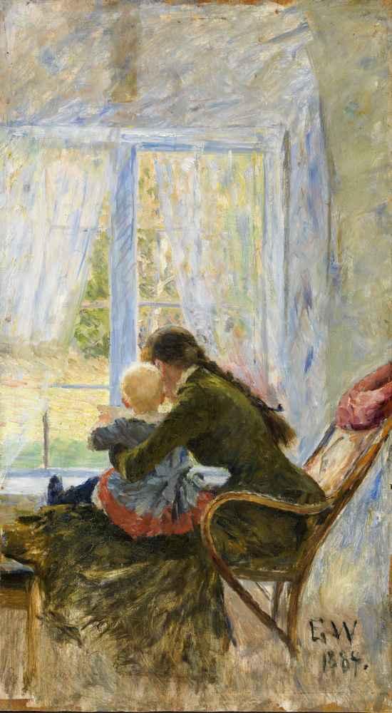 You and Baby - Erik Werenskiold