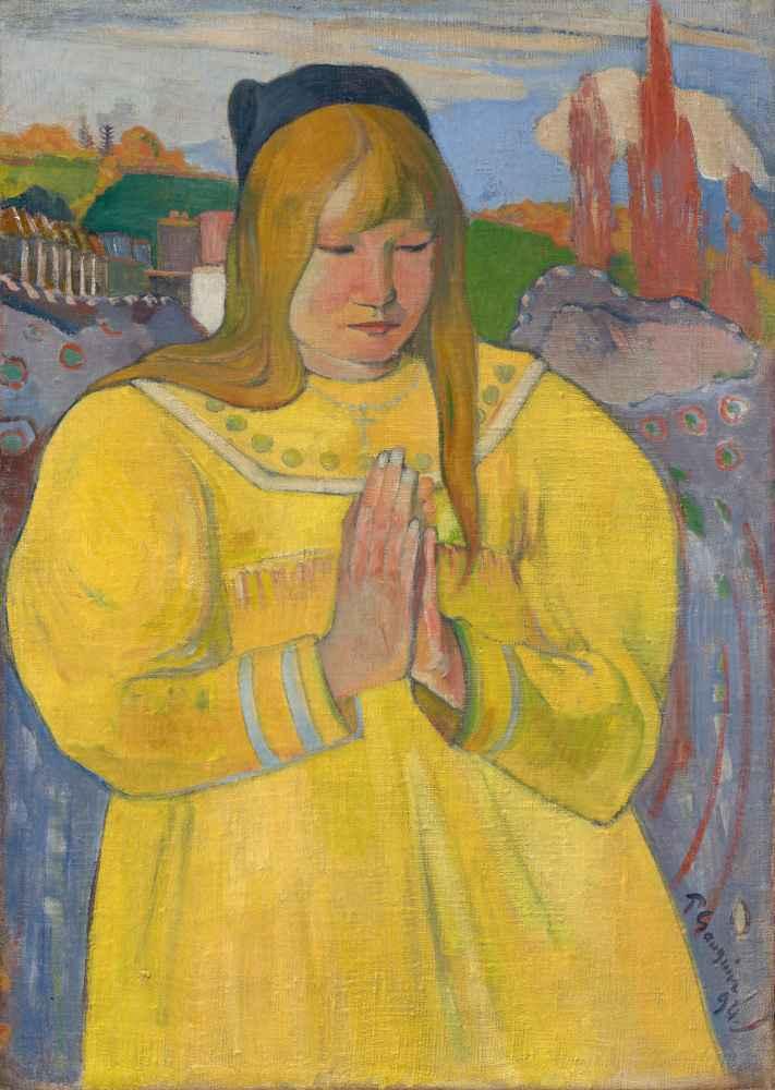 Young Christian Girl - Paul Gauguin