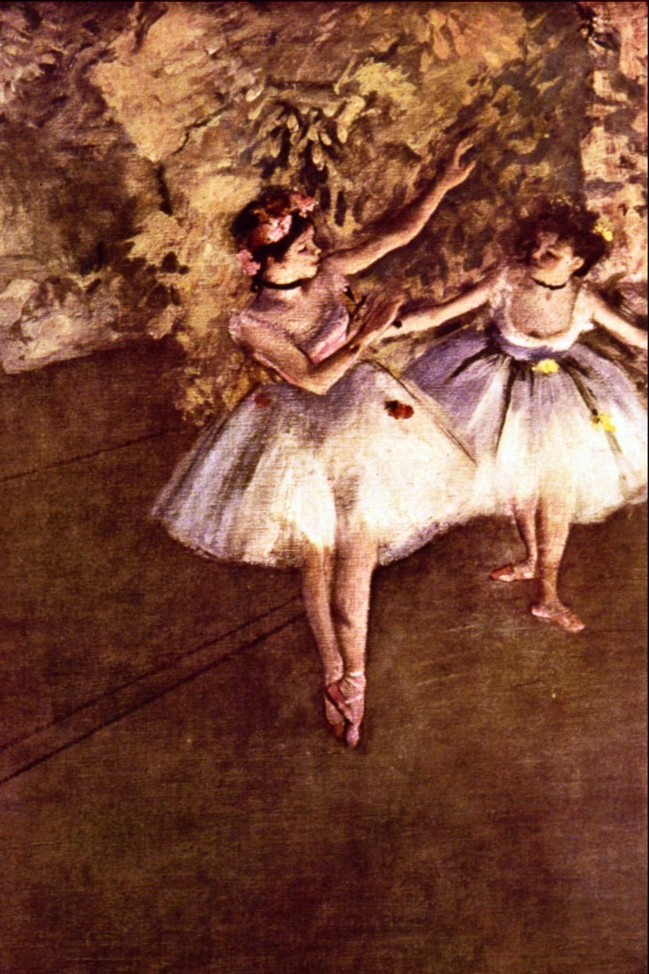 Young Dancers - Degas