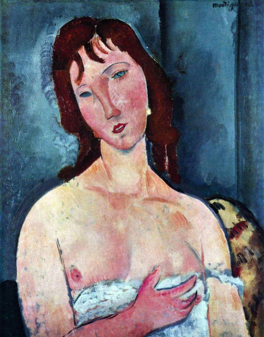 Young Frau - Modigliani
