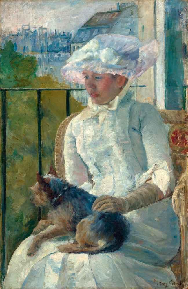 Young Girl at a Window - Mary Cassatt
