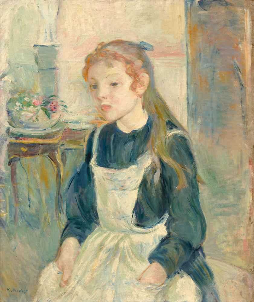 Young Girl with an Apron - Berthe Morisot