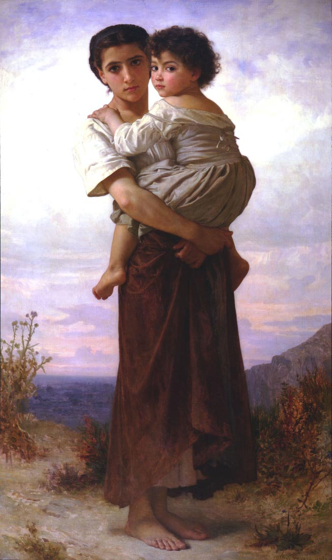 Young Gypsies - Bouguereau