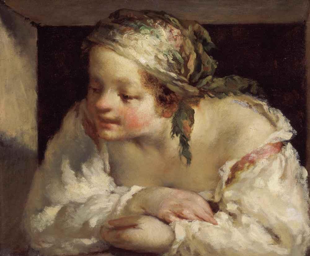 Young Woman - Jean Francois Millet