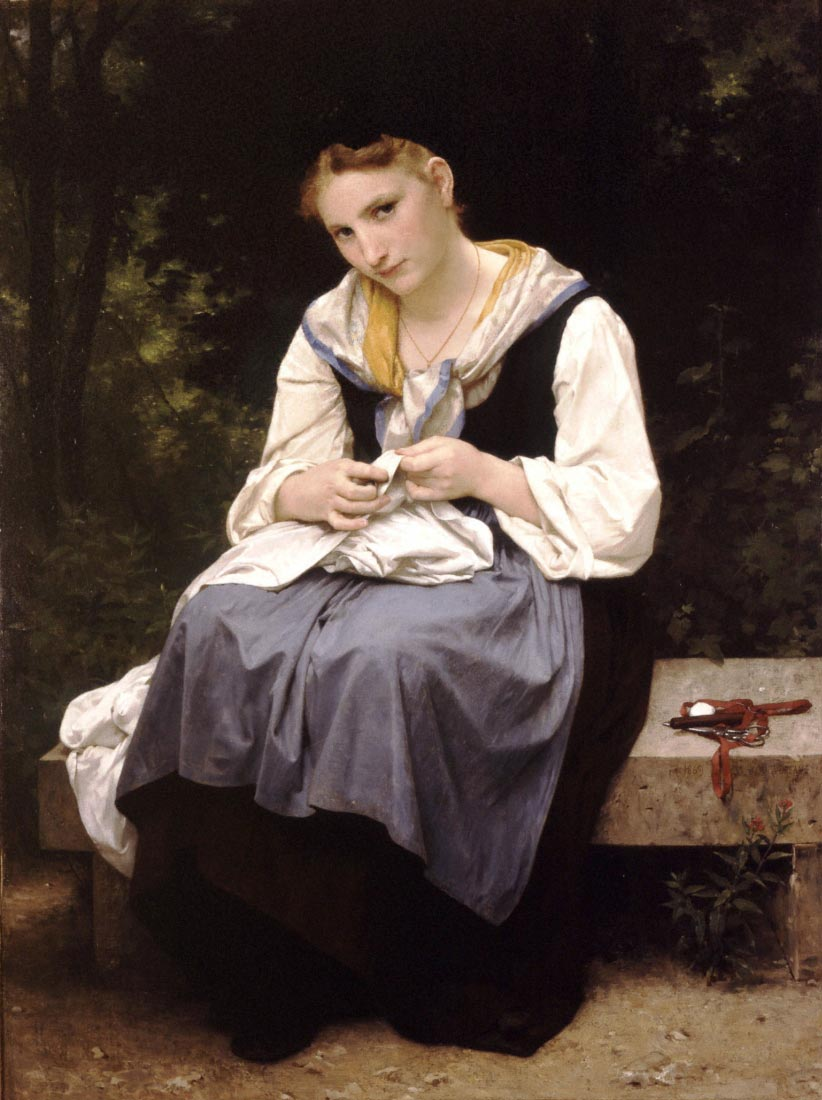 Young Worker - Bouguereau