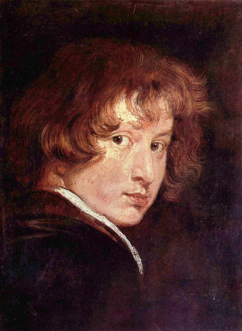 Youthful self-portrait - Van Dyck