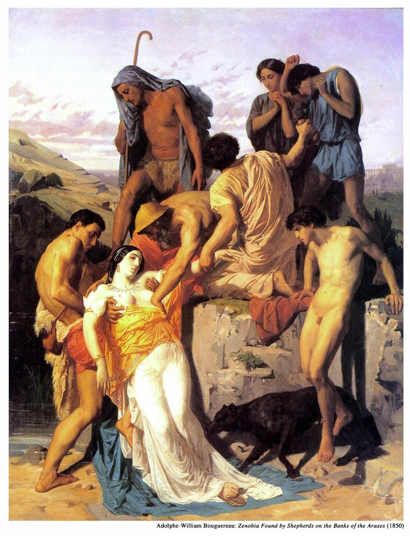 Zenobia 1850 - Bouguereau