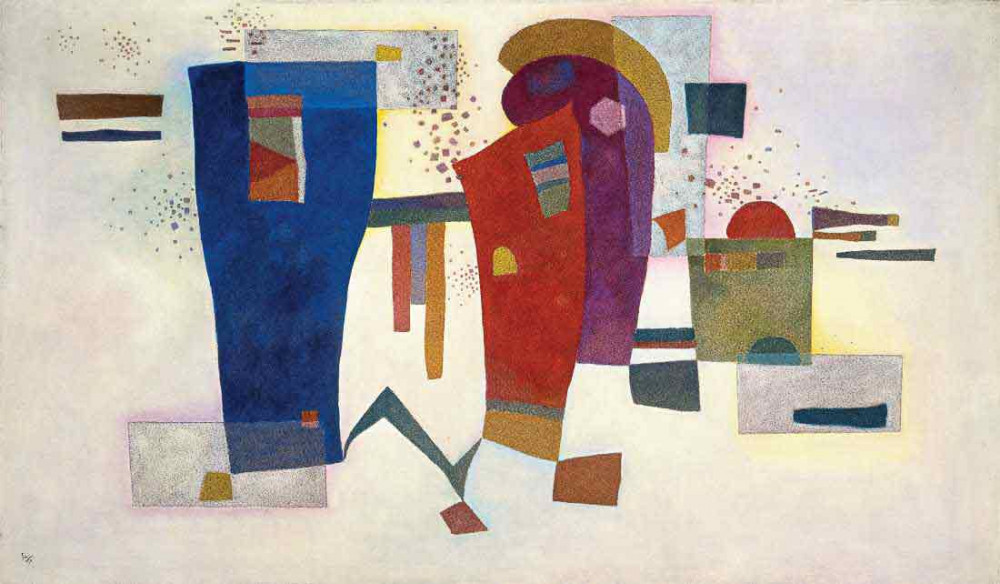 Accompanied Contrast - Kandinsky
