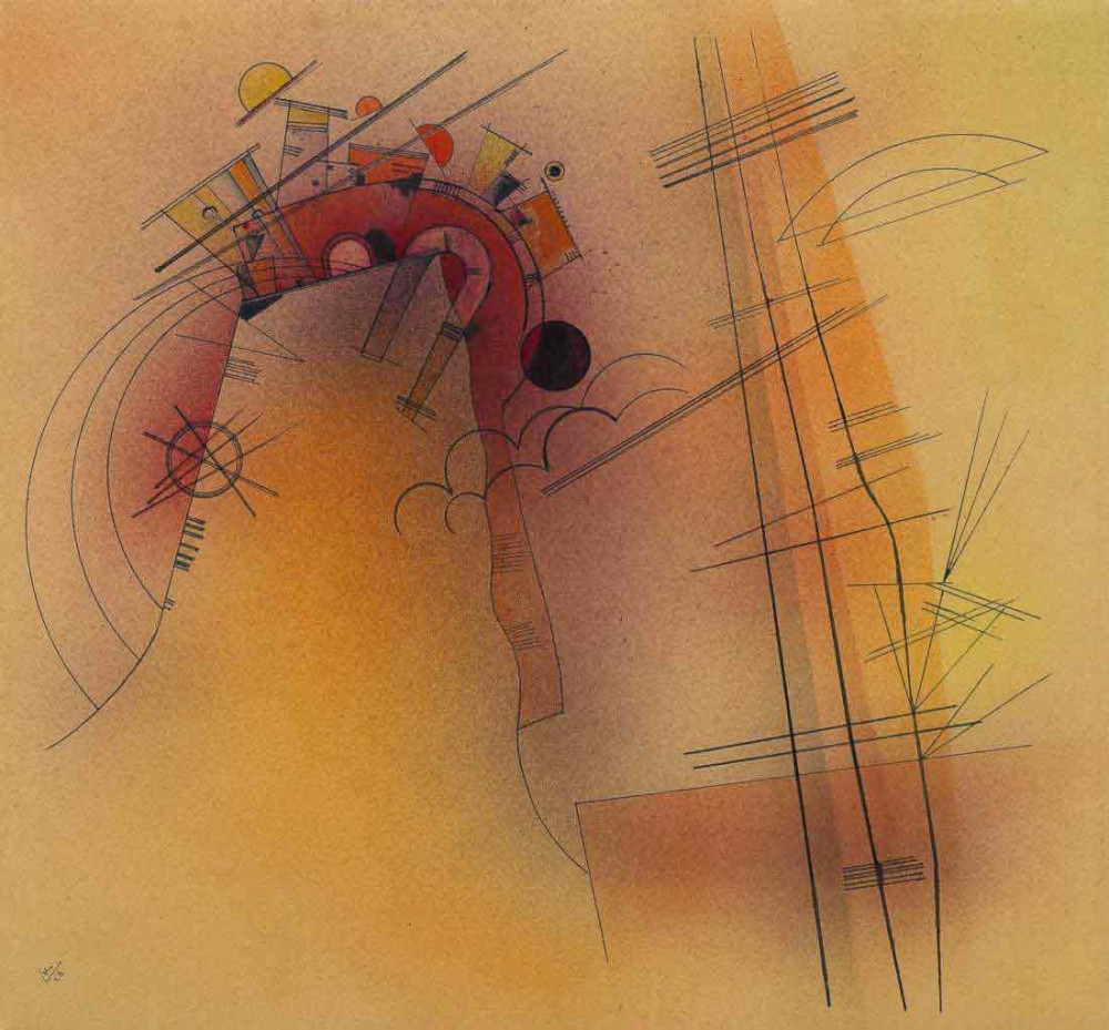 Aglow - Kandinsky