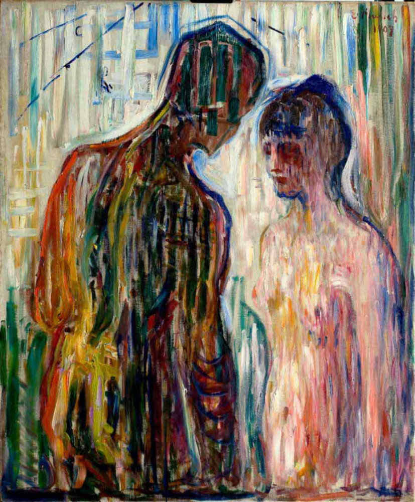 Amor i Psyche (1908) - Munch