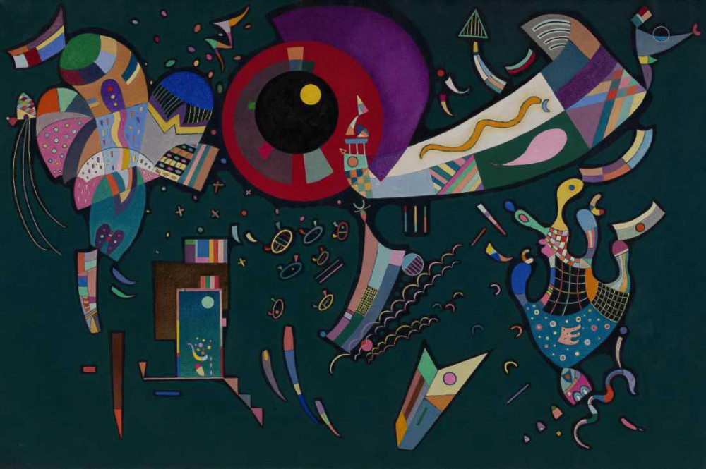 Around the Circle - Kandinsky