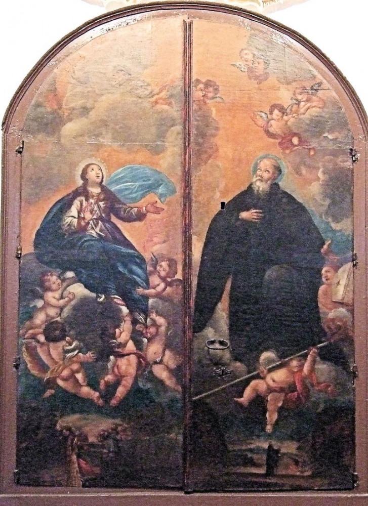Wniebowstąpienie Dziewicy i Święty Ignacy - Goya