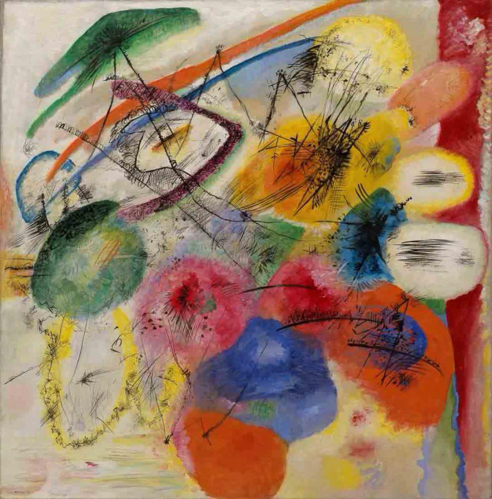 Black Lines - Kandinsky