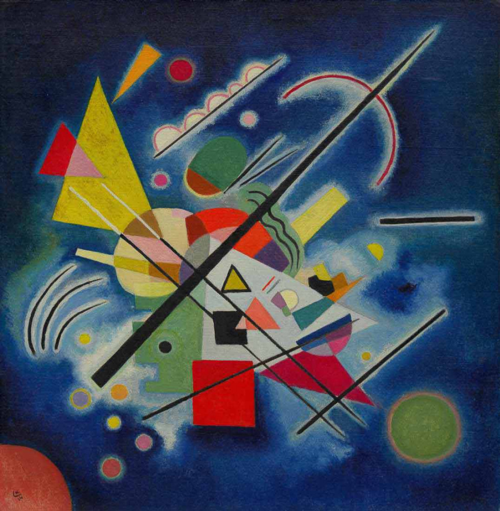 Blue Painting - Kandinsky