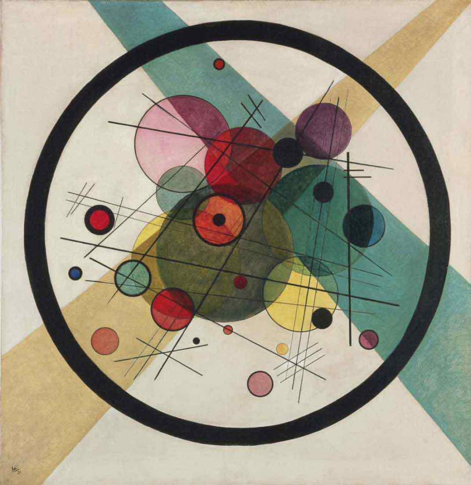 Circles in a Circle - Kandinsky