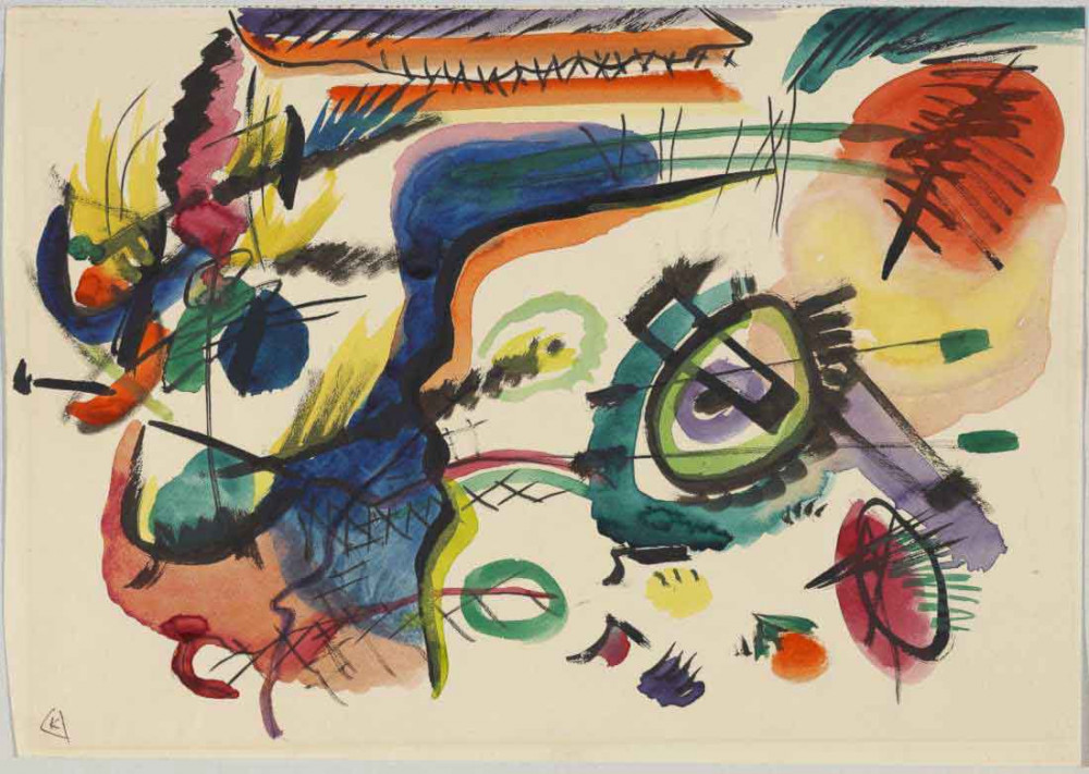 Composition VII - Kandinsky