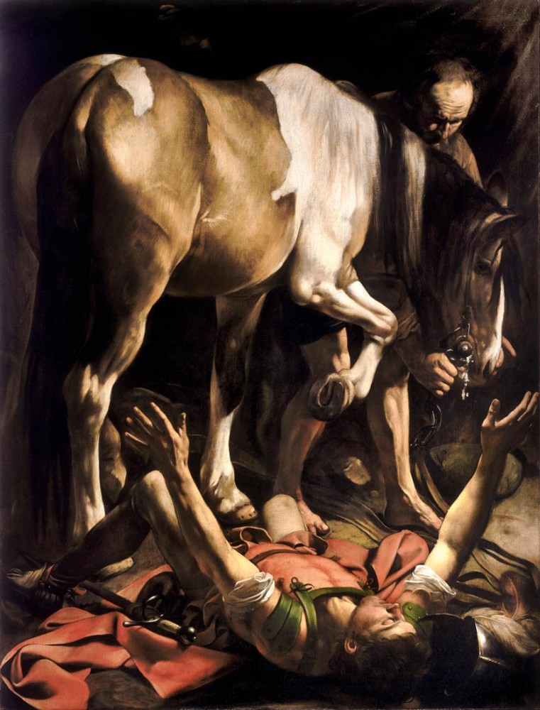 Conversion of Saul - Caravaggio