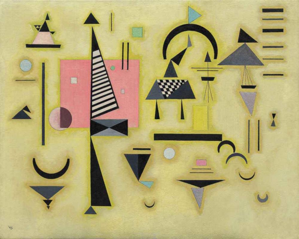 Decisive Rose - Kandinsky