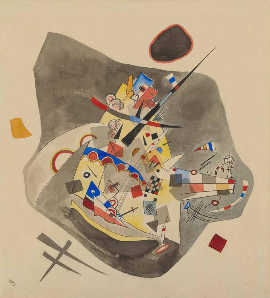 Gray Spot - Kandinsky