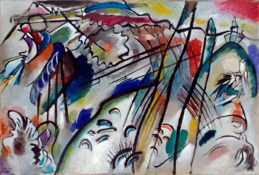Improvisation 28 ver 2 - Kandinsky