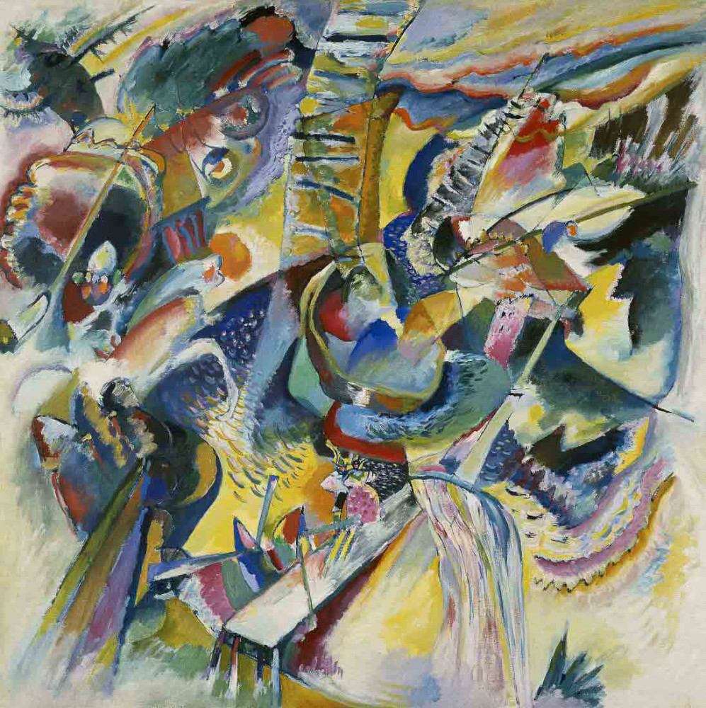 Improvisation Clam - Kandinsky