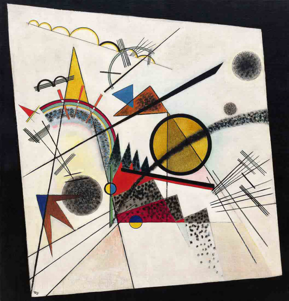 In the Black Square - Kandinsky