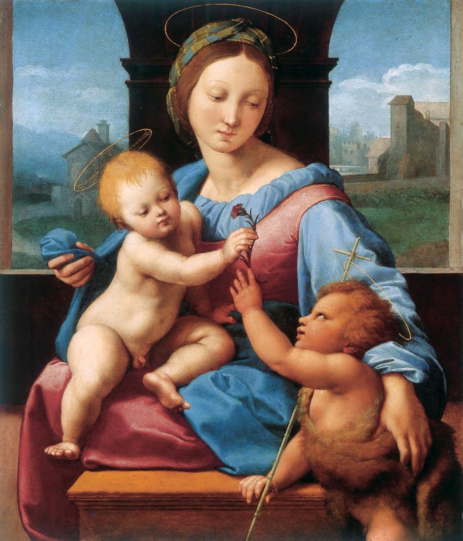 madonna aldobrandini - Raffaello