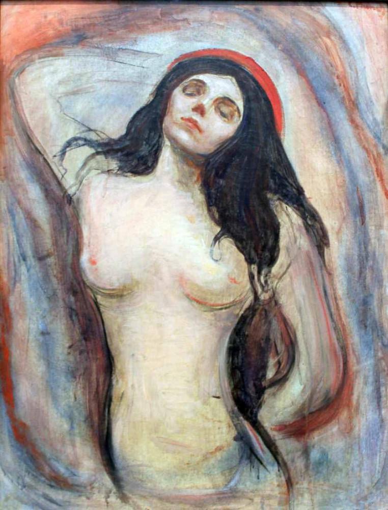 Madonna (1894) - Munch