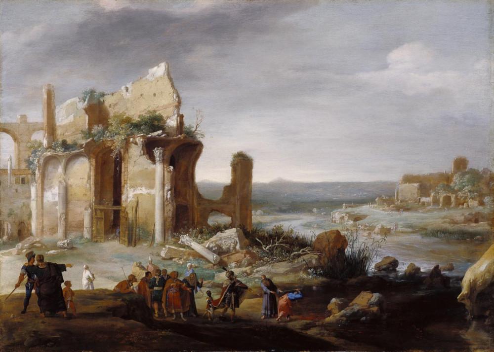 Mojżesz i Aaron - Bartholomeus Breenbergh