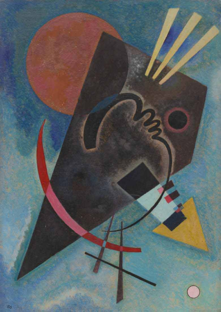 Pointed and Round - Kandinsky