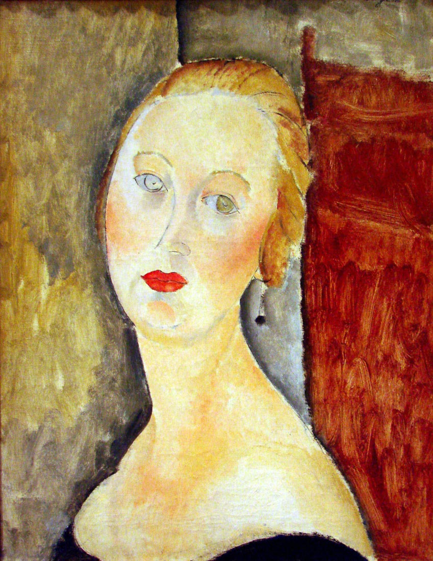 portrait de Germaine Survage - Modigliani