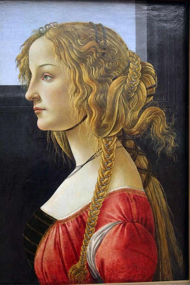 Portrait of Simonetta Vespucci - Botticelli