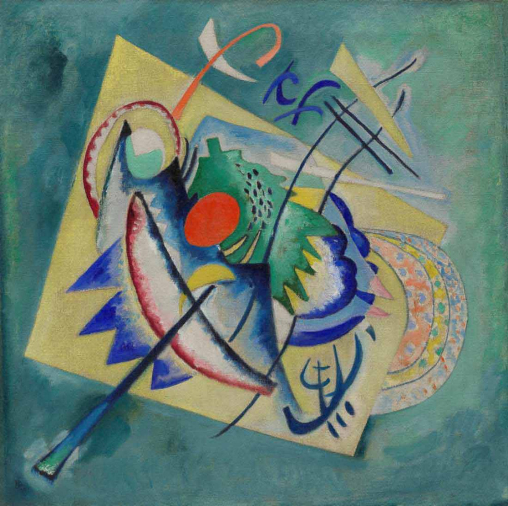 Red Oval - Kandinsky