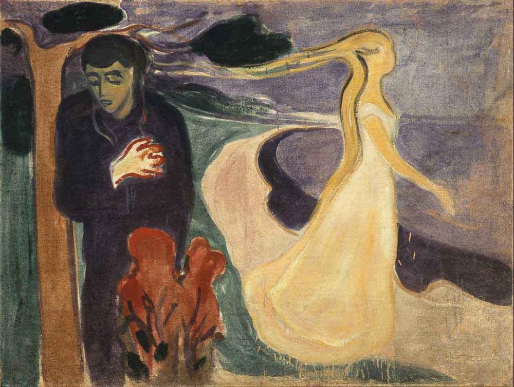 Separacja (1896) - Munch