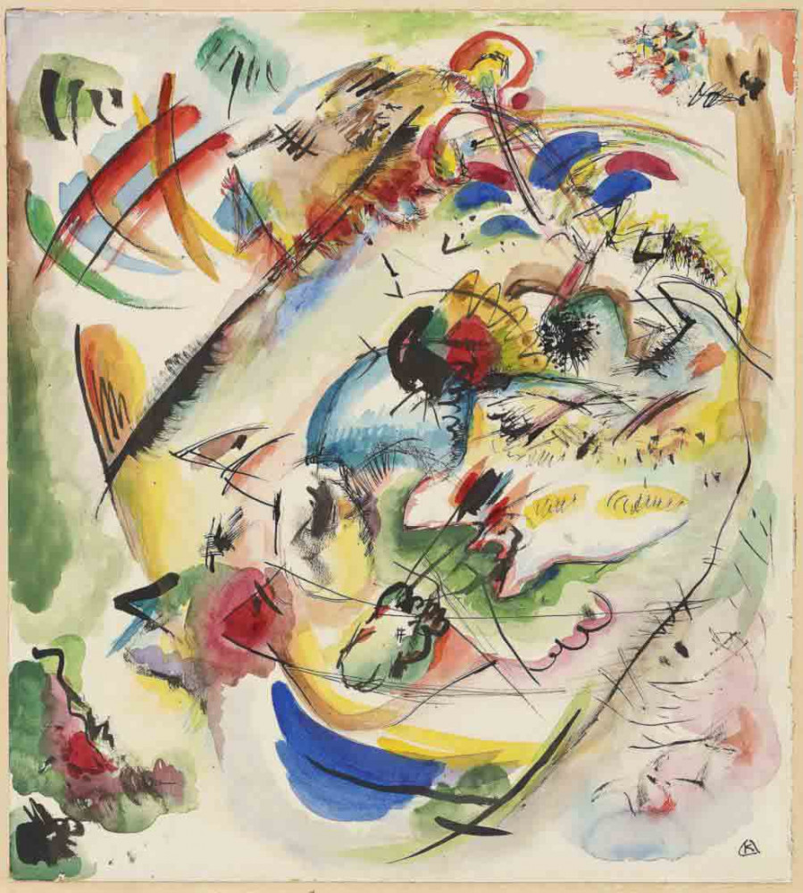 Sketch for Dreamy Improvisation - Kandinsky