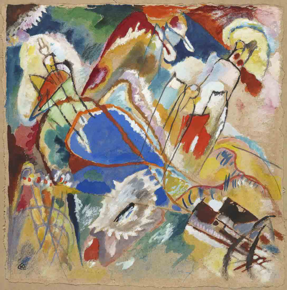 Sketch for Improvisation 30 (Cannons) - Kandinsky