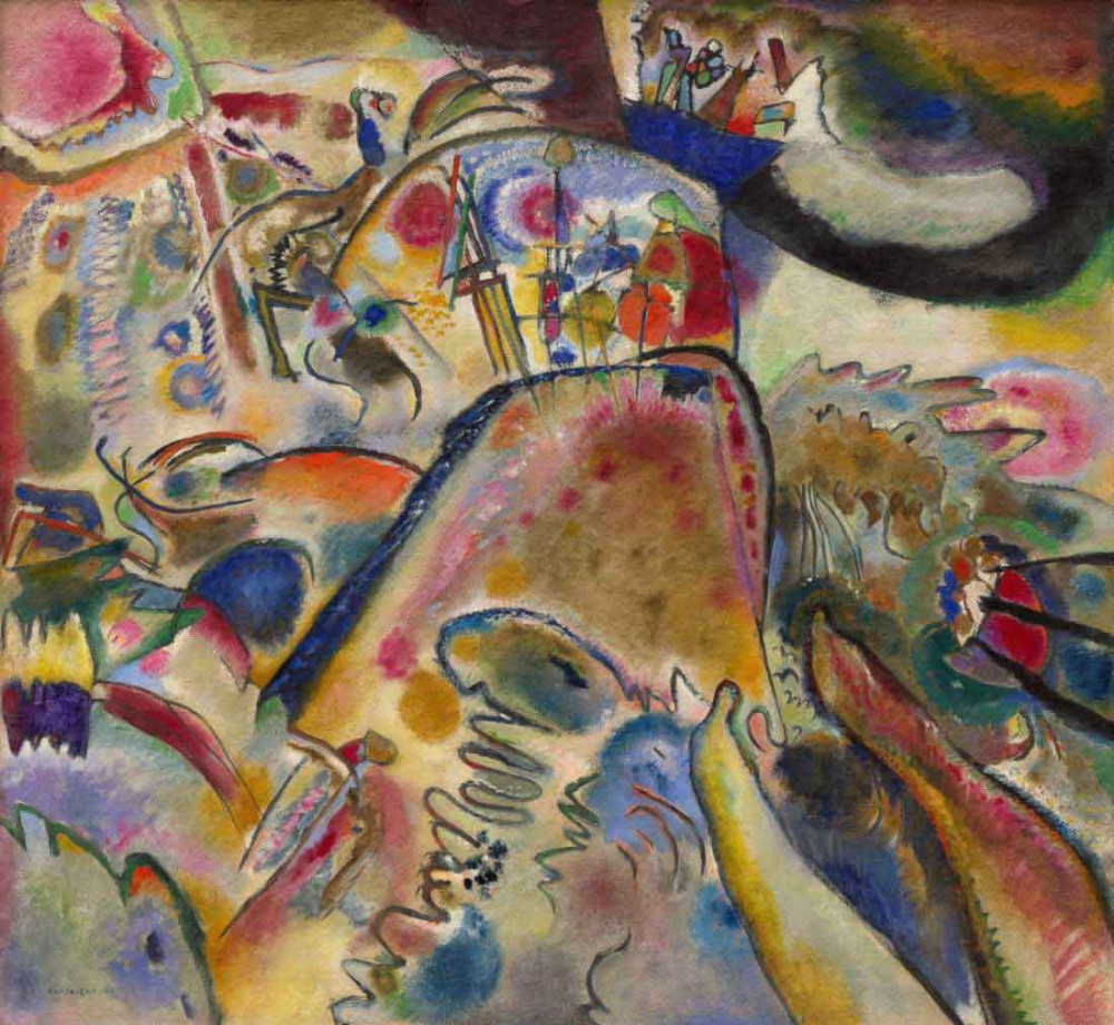 Small Pleasures - Kandinsky