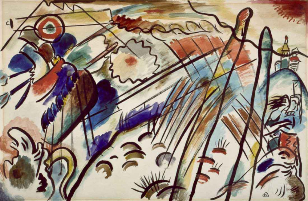 Study for Improvisation 28 ver 2 - Kandinsky