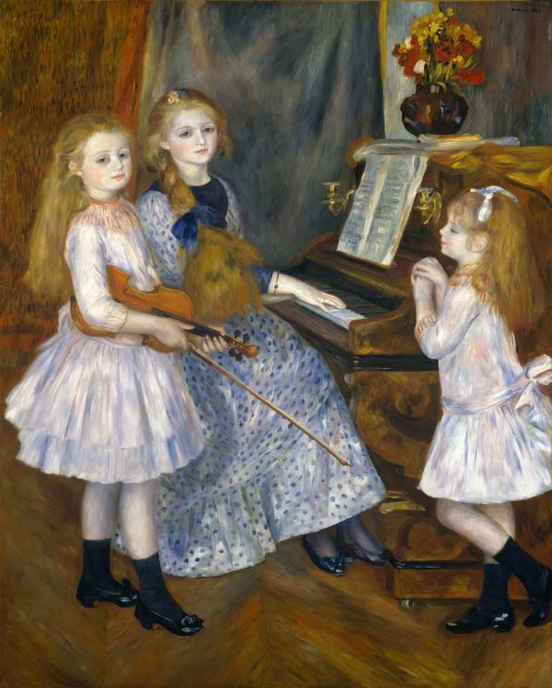 The Daughters of Catulle Mendès, Huguette (1871–1964), Claudine (1876–