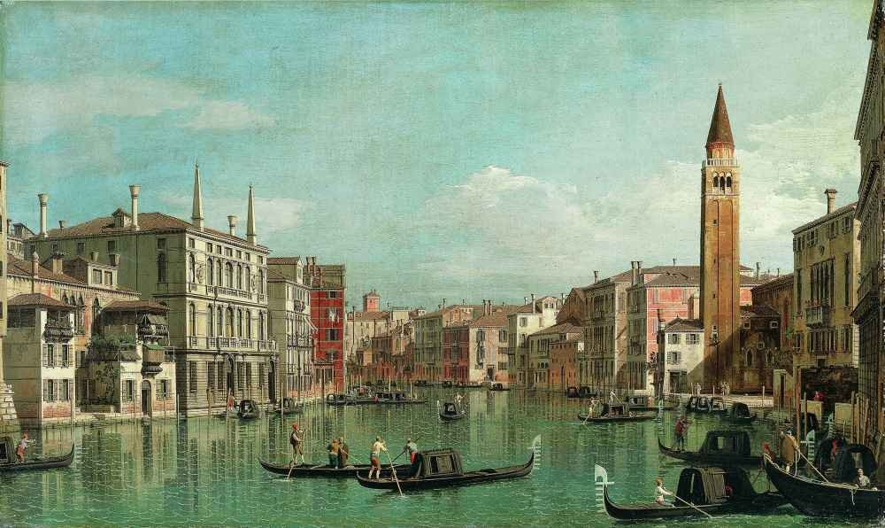 The Grand Canal, Venice, Looking Southeast, with the Campo della Carit