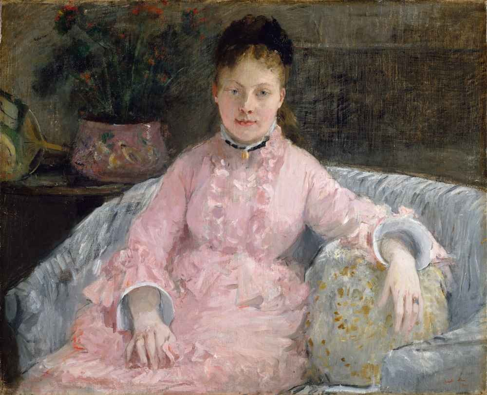 The Pink Dress (Albertie-Marguerite Carré, later Madame Ferdinand-Henr