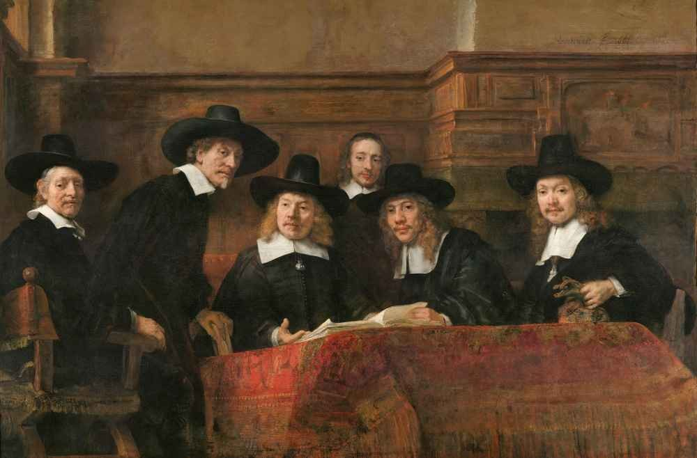 The Sampling Officials of the Amsterdam Drapers' Guild, Known as 'The