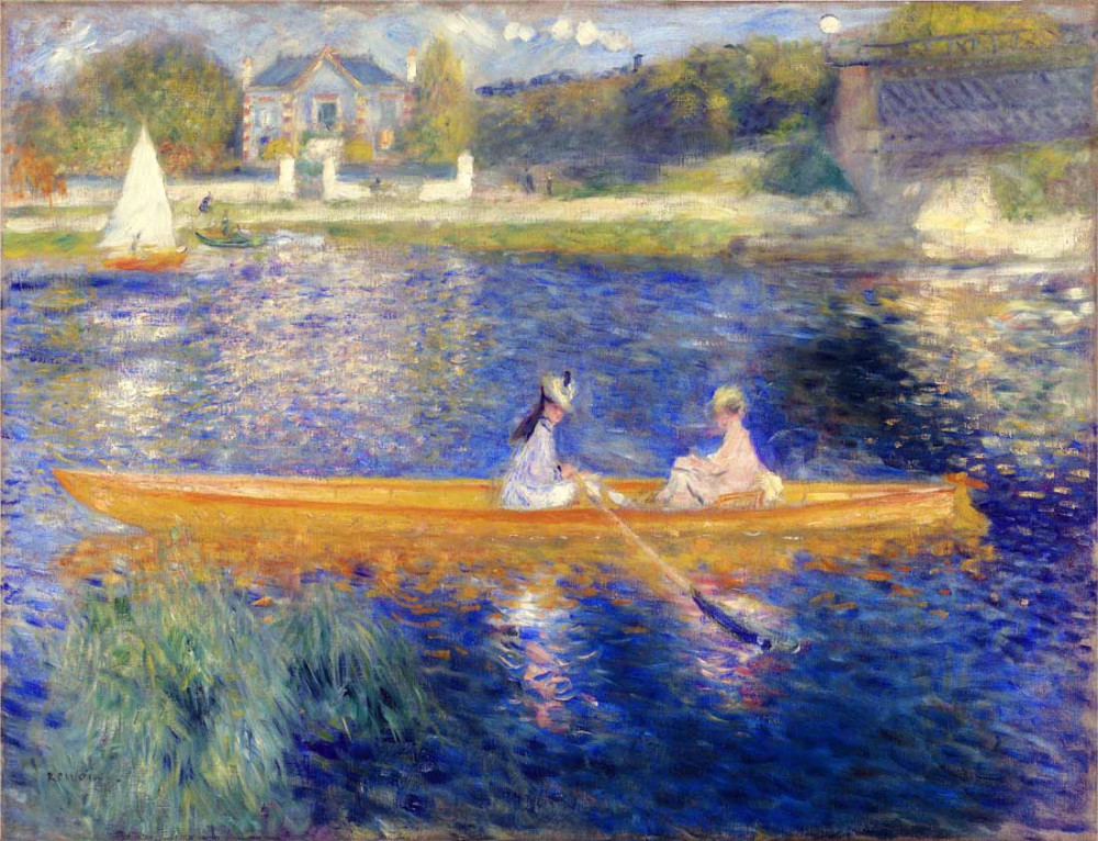 The Seine 2 - Renoir