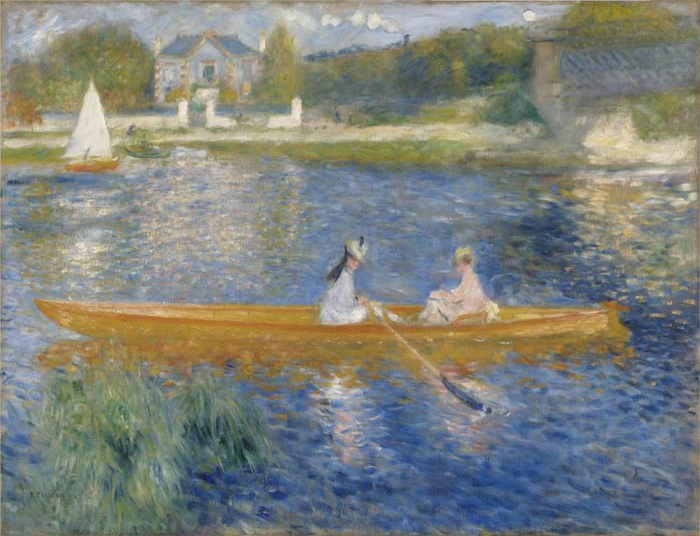 The Seine - Renoir